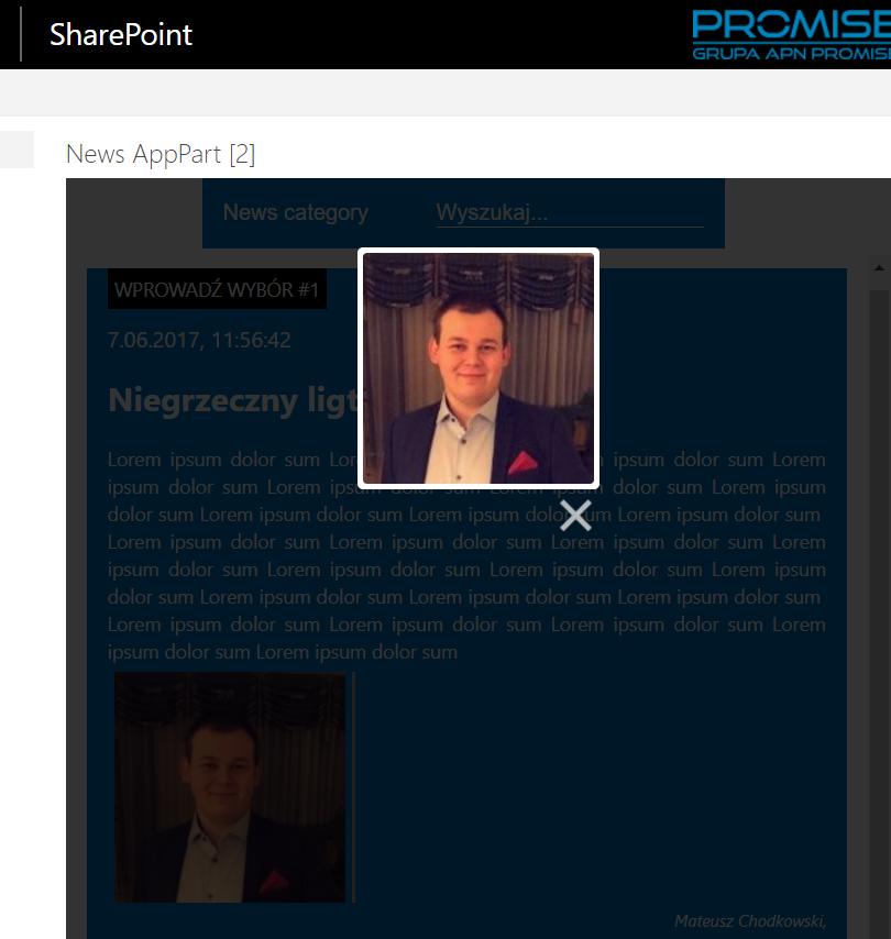WebPart dla SharePoint