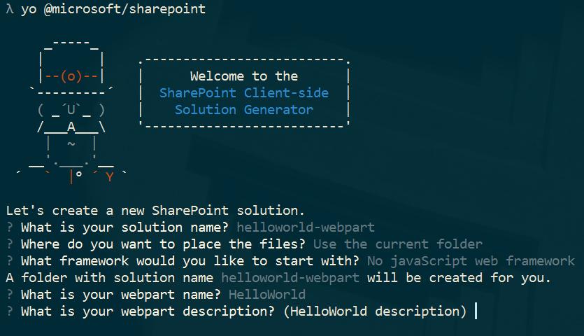 Tworzenie WebPartów z pomocą SPFX