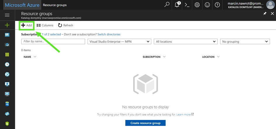 Azure resource groups