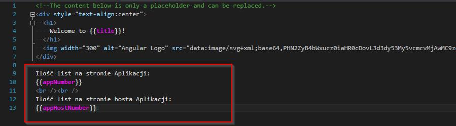 Zmiany w pliku: app.component.html