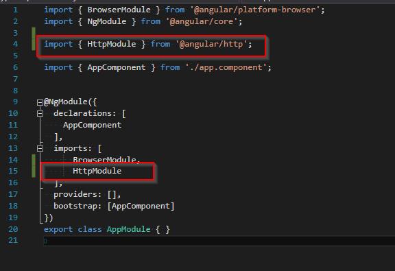 Zmiany w pliku app.module.ts