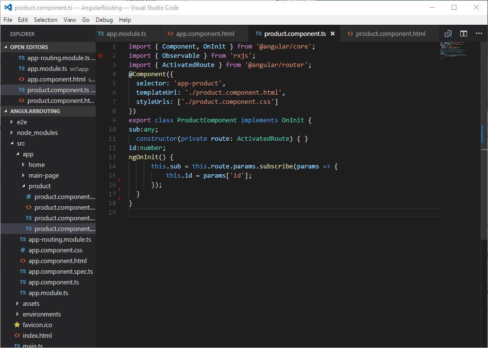 angular kodowanie