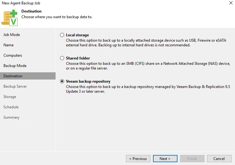 Veeam Backup & Replication repozytorium backupowe