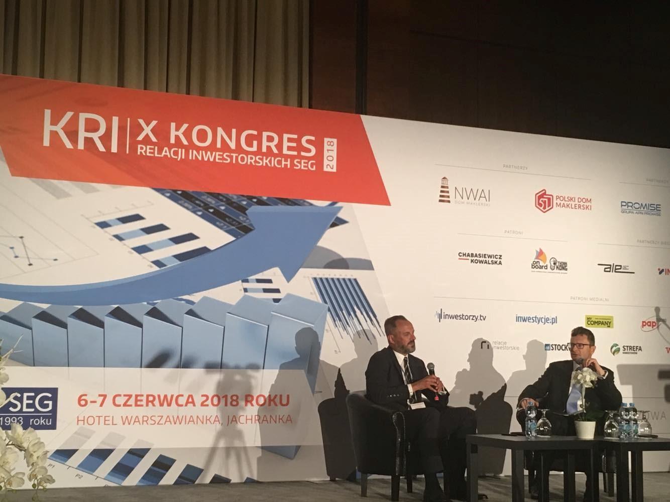 X Kongres Relacji Inwestorskich Spółek Giełdowych SEG