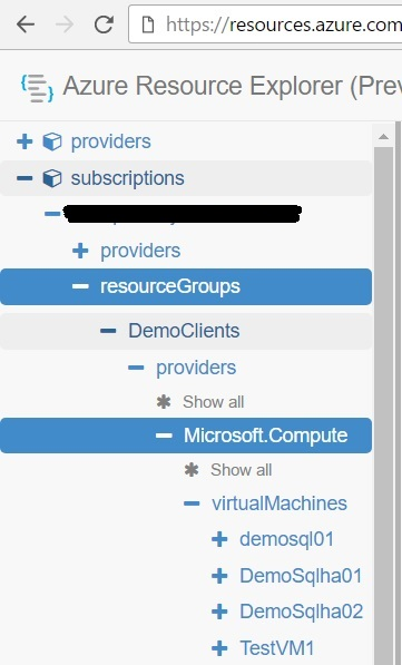 Azure Resource Explorer
