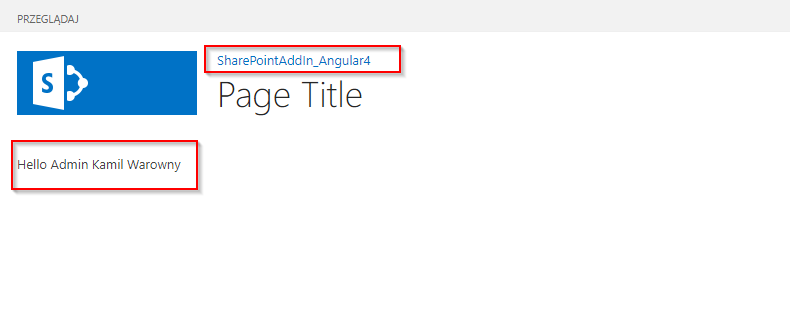 SharePoint Angular
