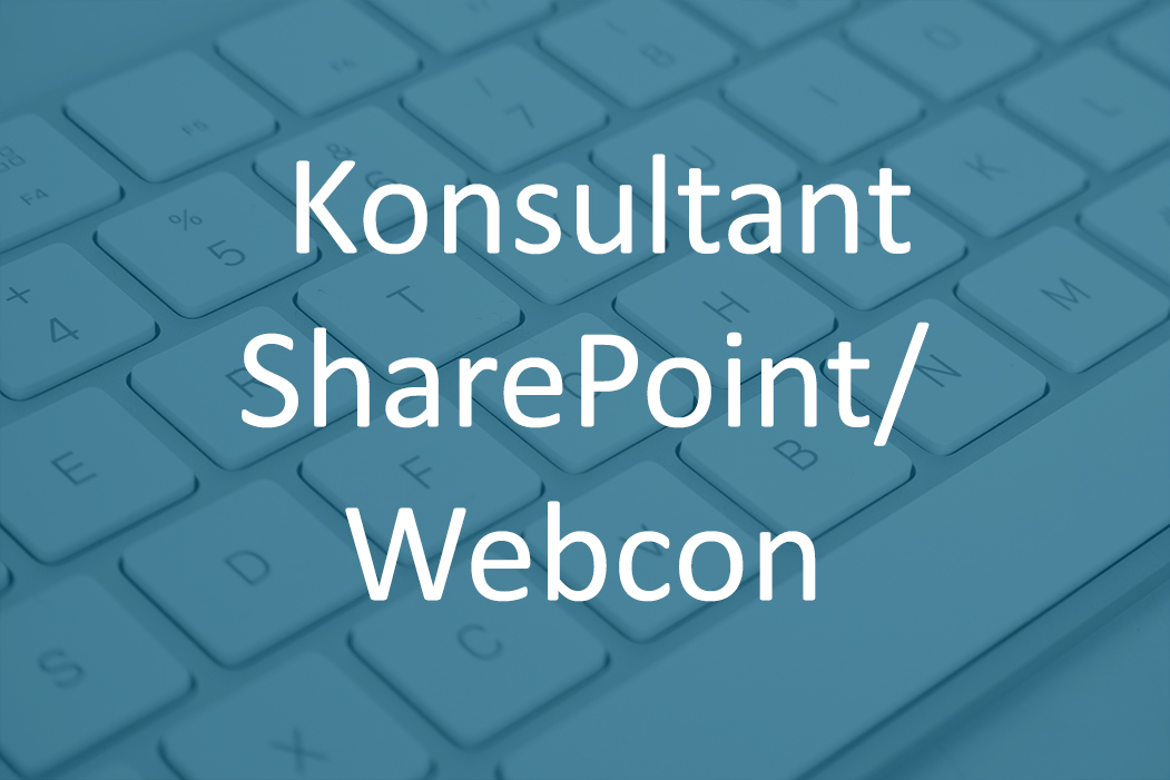 Konsultant SharePoint/Webcon