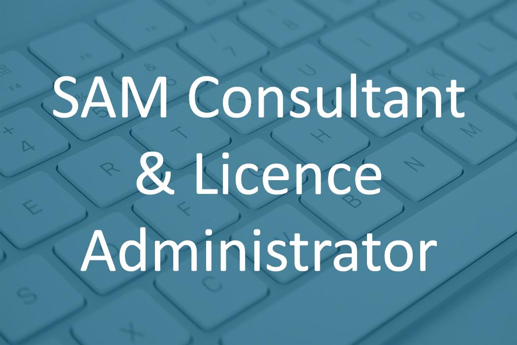 SAM Consultant License Administrator