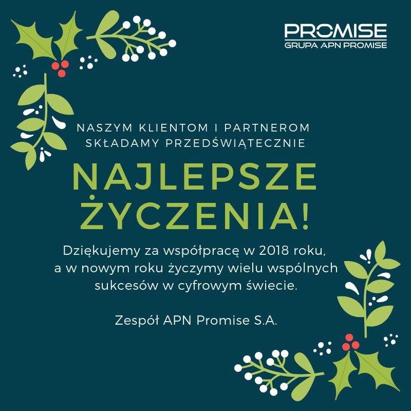 APN Promise życzy Wesołych Świąt