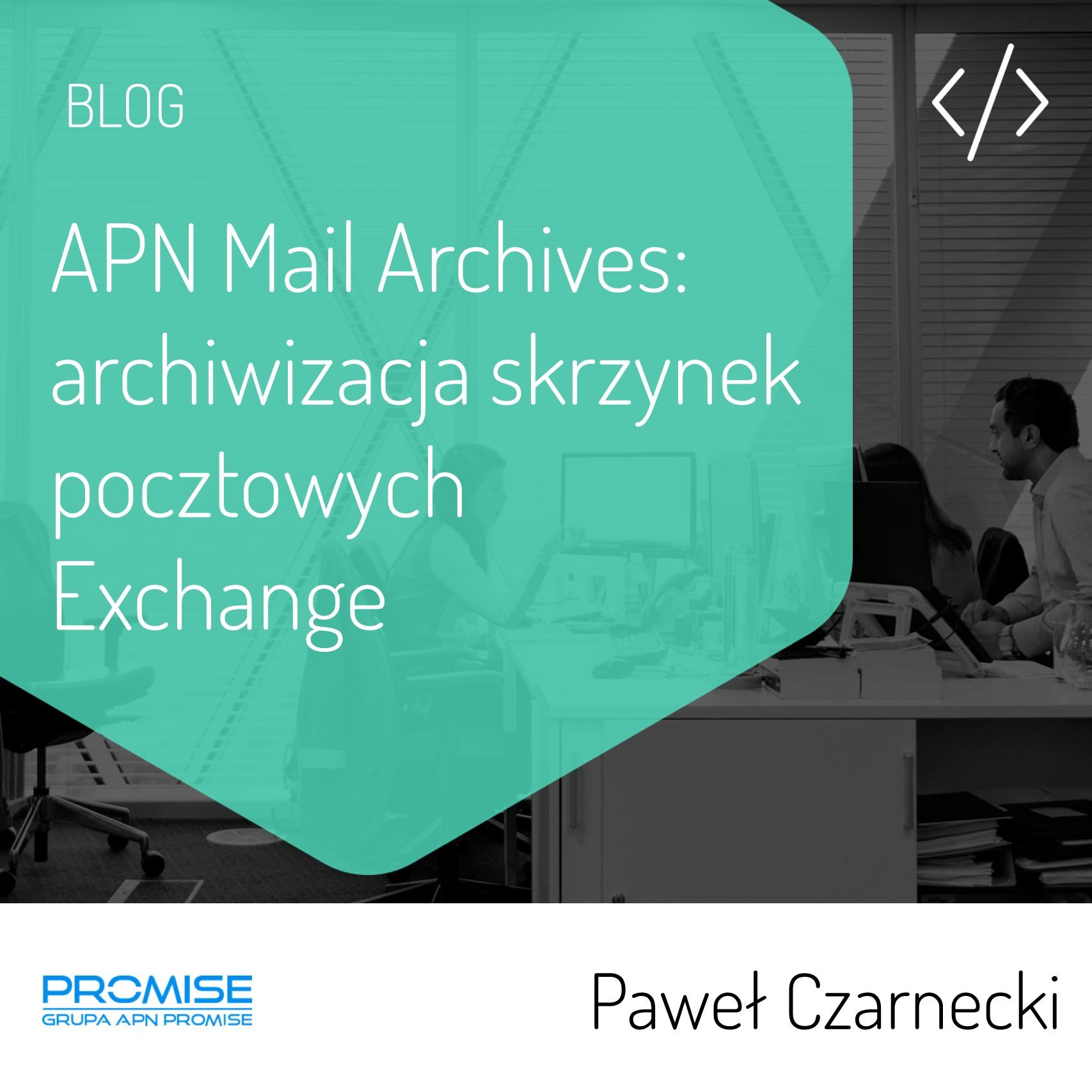 Mail Archives archiwizacja wiadomości mailowych