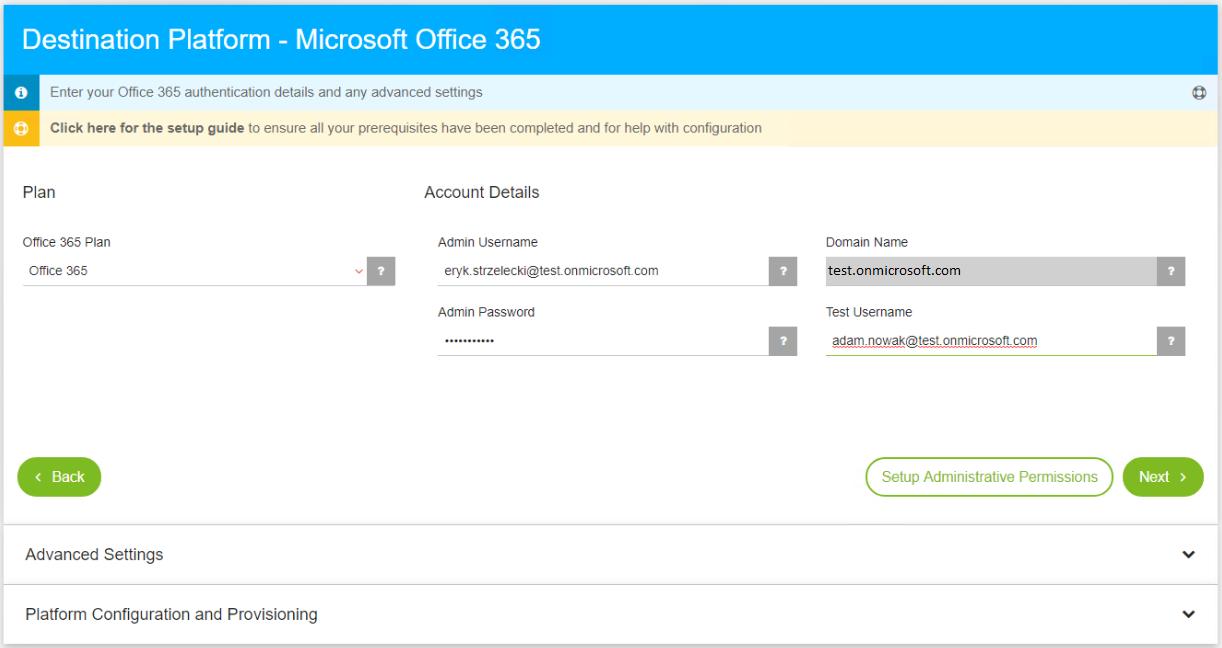 CloudMigrator – migracja danych między tenantami Office 365