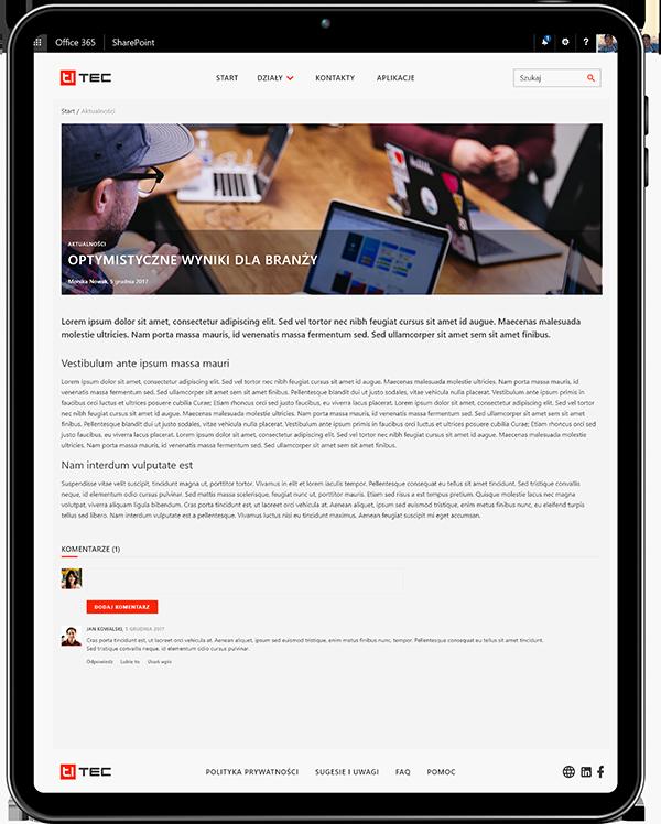 intranet dla firm artykuły i aktualności