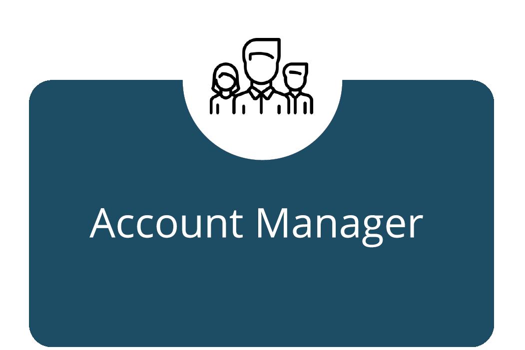 account manager ikonka
