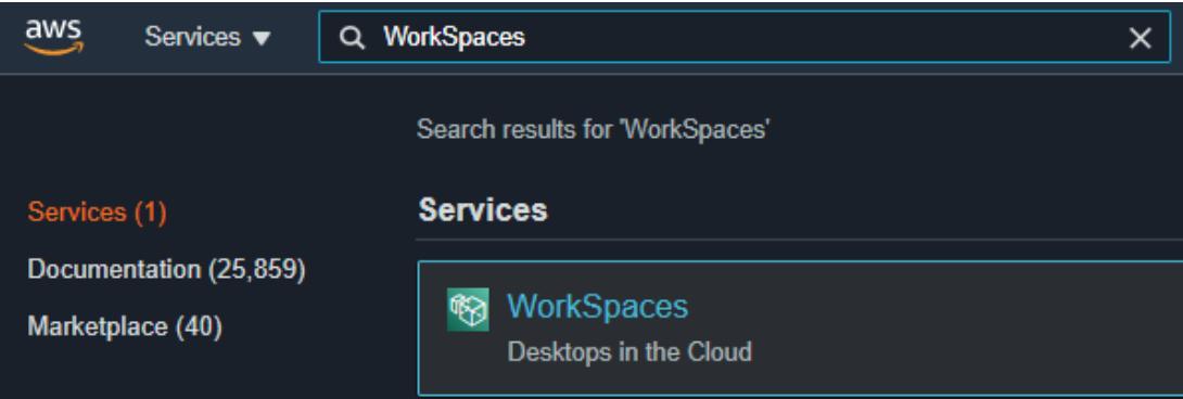 Amazon WorkSpaces 1