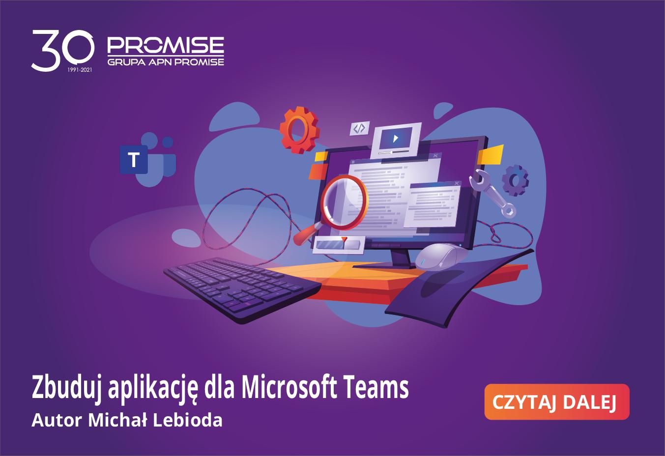 Zbuduj aplikację dla Microsoft Teams