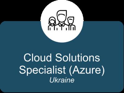 Cloud Solutions Specialist (Azure) UA