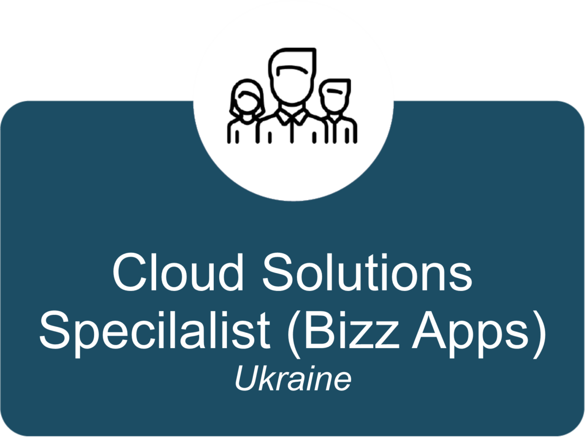 Cloud Solutions Specialist (Bizz Apps) UA