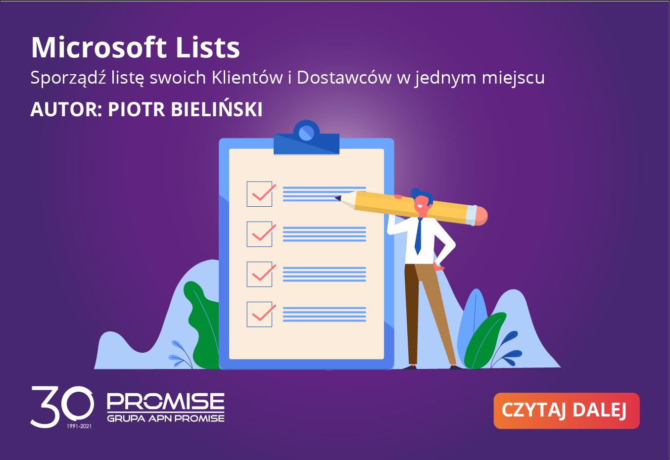 czym jest Microsoft Lists